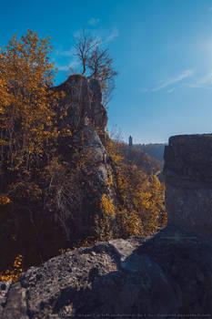 Schwaebische Alb - Burg Helfenstein