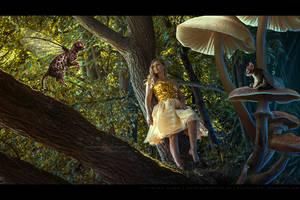 Pia in Wonderland by kuschelirmel