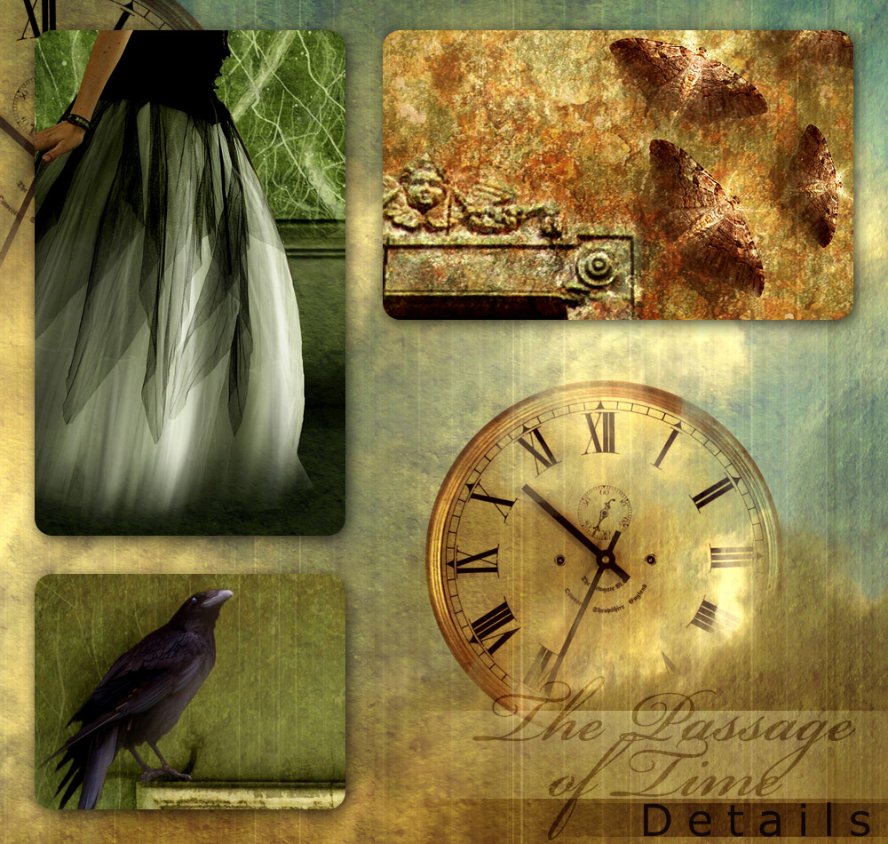 The Passage of Time - details by kuschelirmel