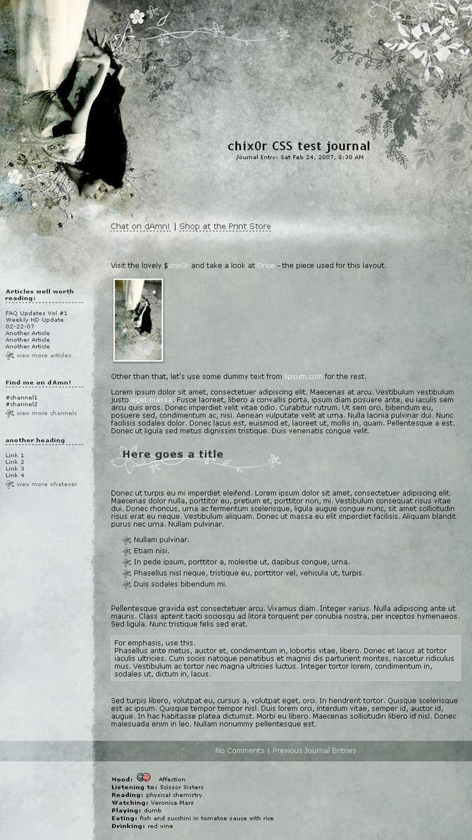 Chix0r's Journal by kuschelirmel