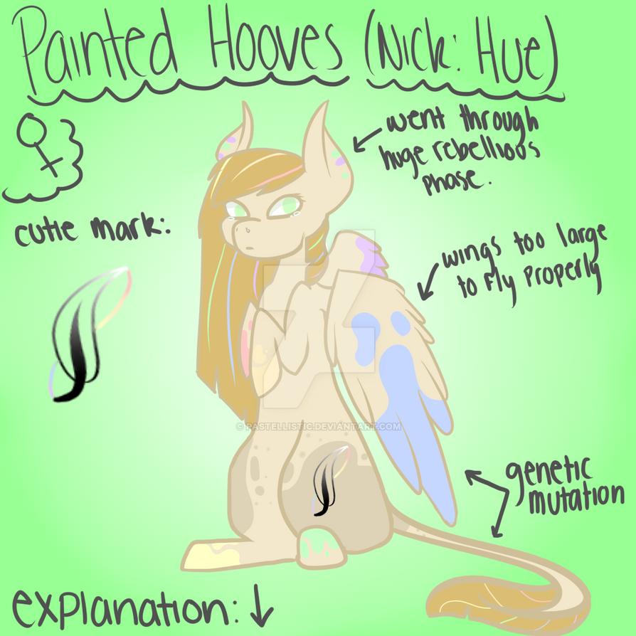 Hue (OC/Ponysona) by Pastellistic