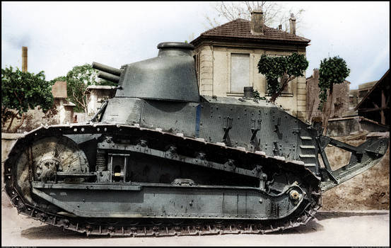Renault FT with Omnibus Turret - Colorized