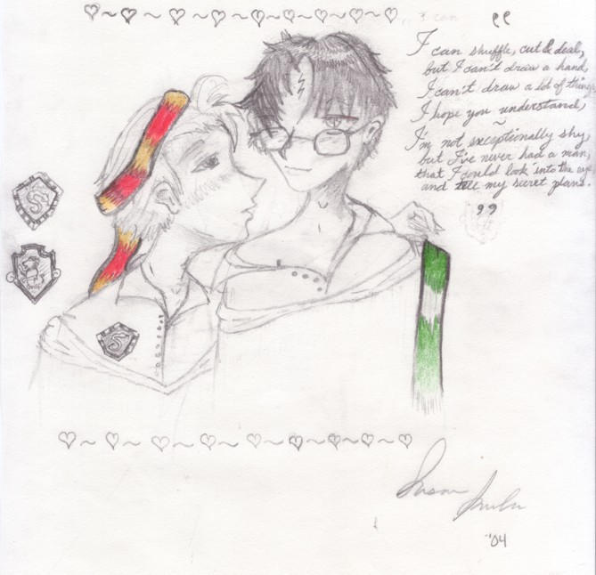 Harry X Draco Fanart, ...