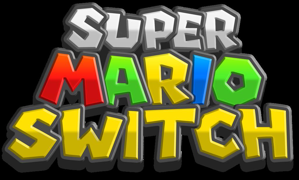 Super Mario Odyssey - Provisional Fan Logo by Rayman2000