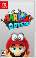 Super Mario Odyssey - Fan Cover Art by Rayman2000