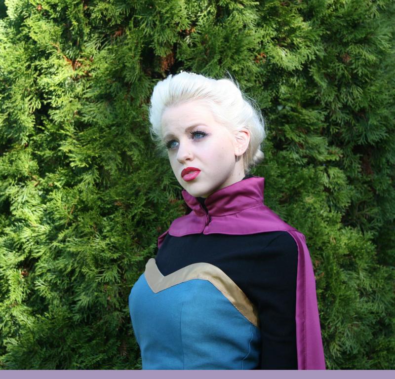 Elsa Coronation Gown Cosplay - 1 by ashleyMO