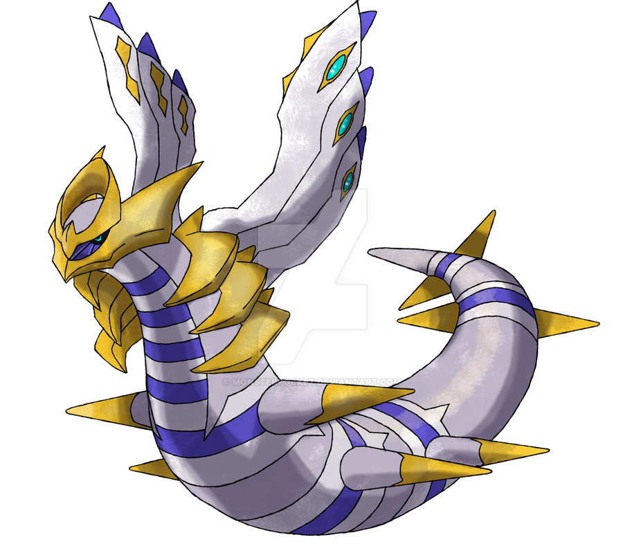 Primal Giratina (Before the Fall) by monsterpocket on ...