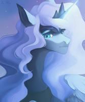 Princess Luna by VelirenRey