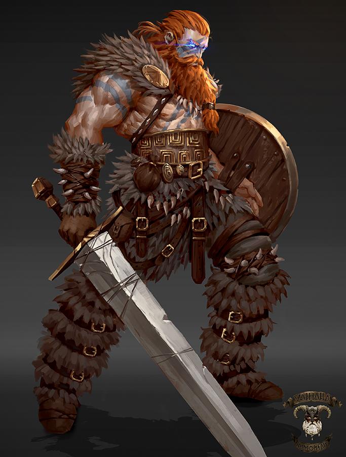 Viking(normal)-Valhalla Immortals by GeorgeStratulat