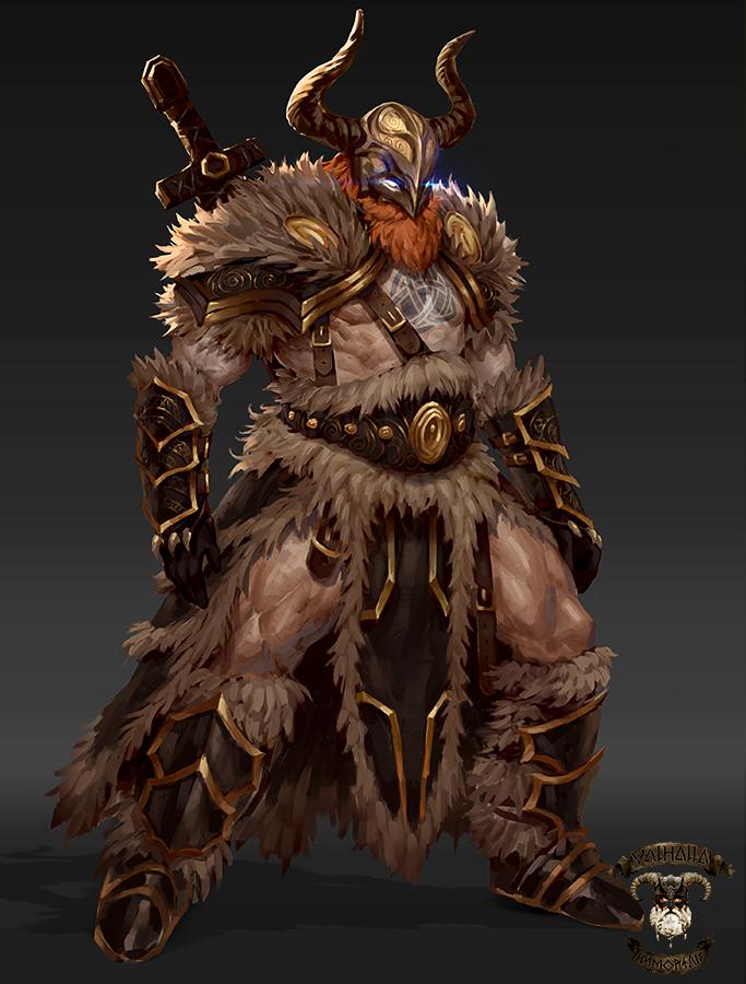 Viking(veteran)-Valhalla Immortals by GeorgeStratulat