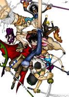 MugiwaraCrew's Rage by YveS11