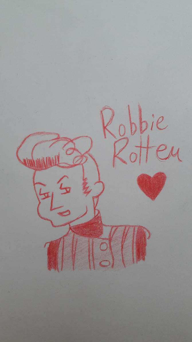 Robbie Rotten by Casual-Sketcher