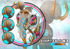 ( OPEN )Adoptable On Auction 03 by SUK1J1