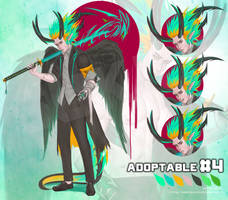 ( OPEN )Adoptable On Auction 04 by SUK1J1