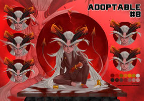 ( OPEN ) Adoptable On Auction 08 by SUK1J1