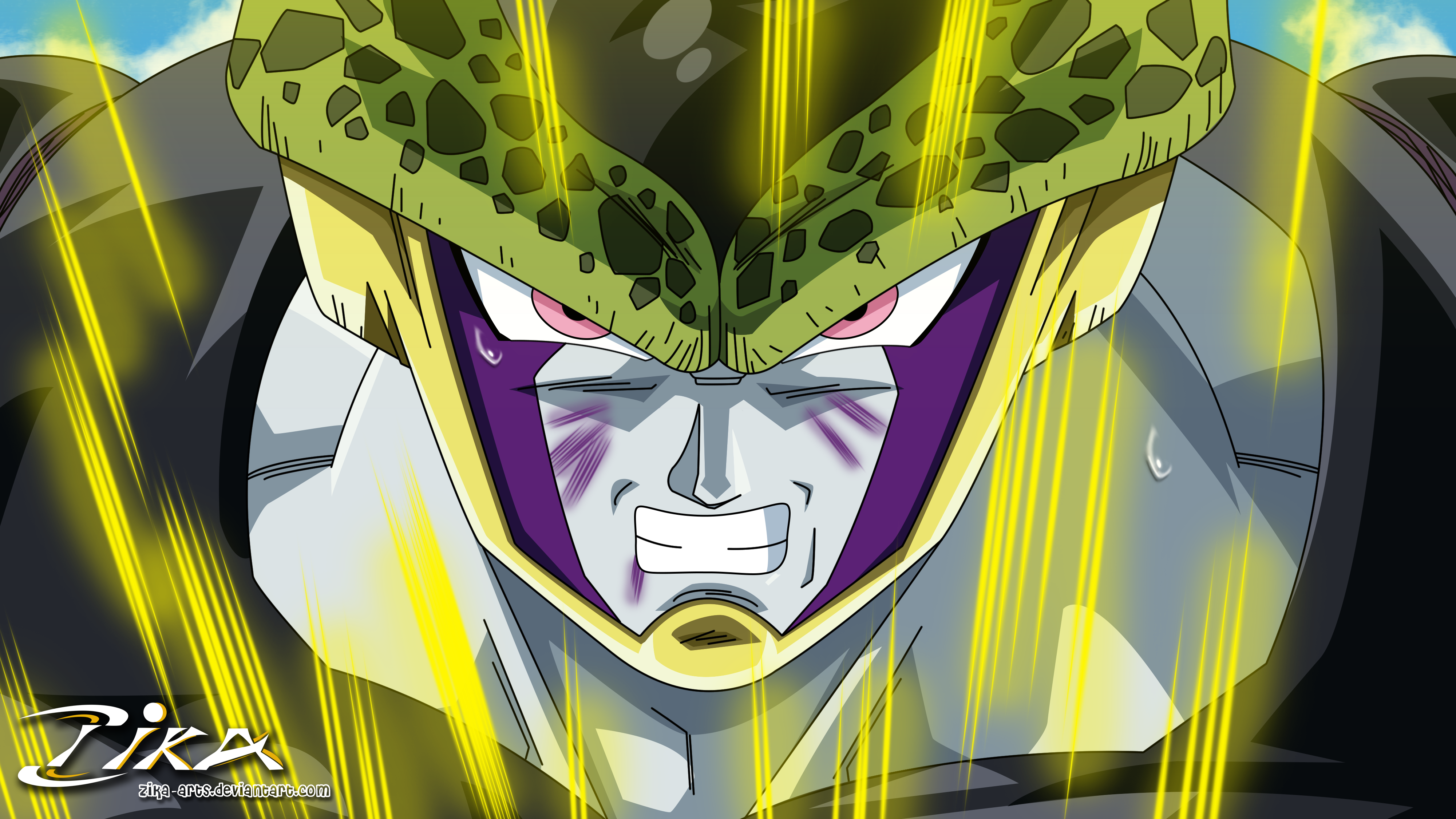 Perfect Cell Wallpaper Ultra Hq By Zika Dbz