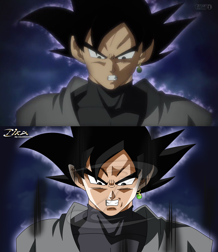 Goku Black Remake Comparison From DBS By Zika : Dbz