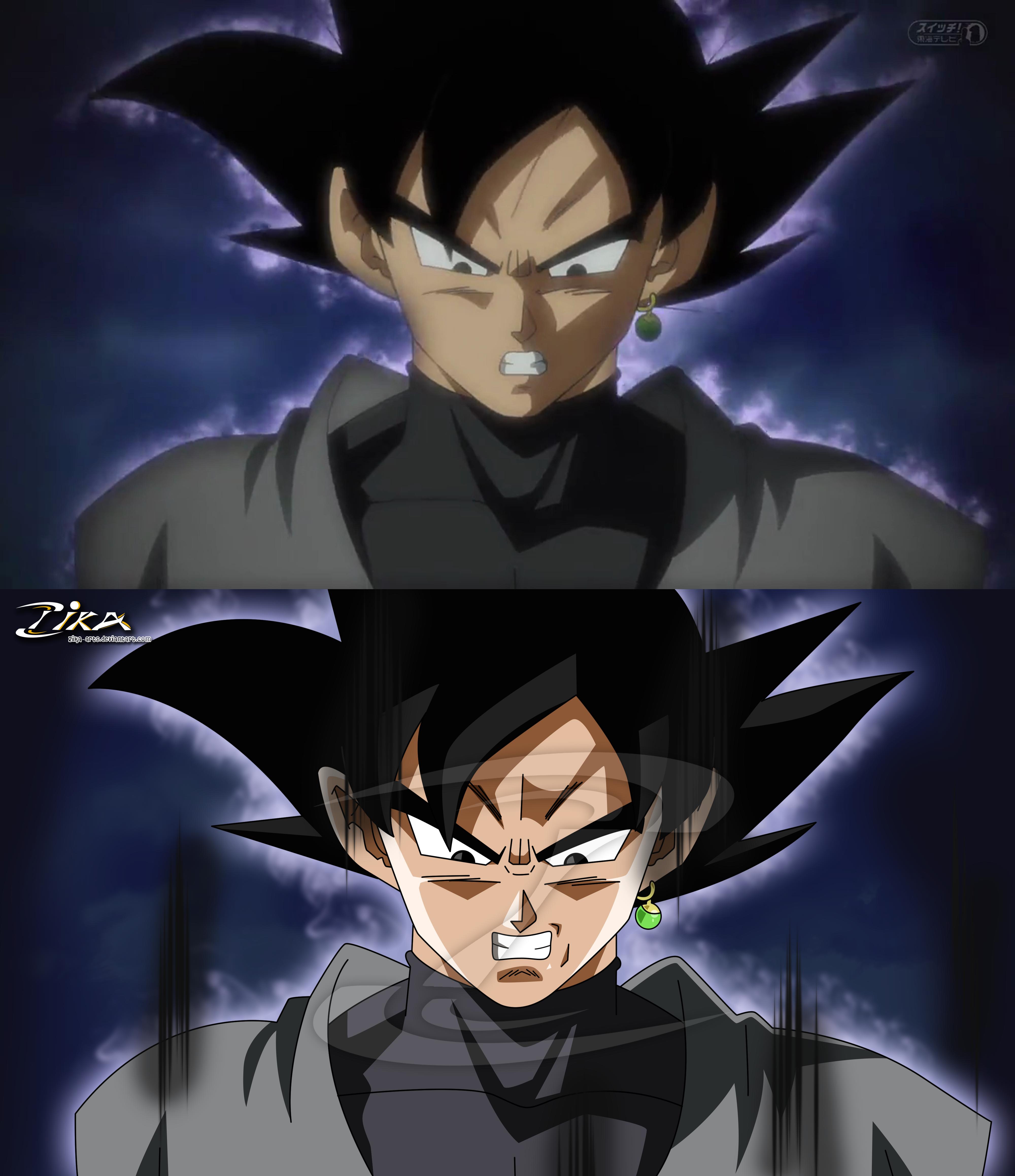 Goku Black Fix - Comparison by zika-arts on DeviantArt