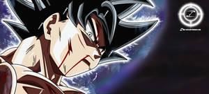 Goku Ultra Instinct by zika-arts