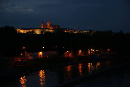 Prazsky Hrad at night III