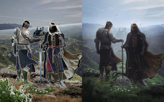Keepers Of The Crown (Before/After)