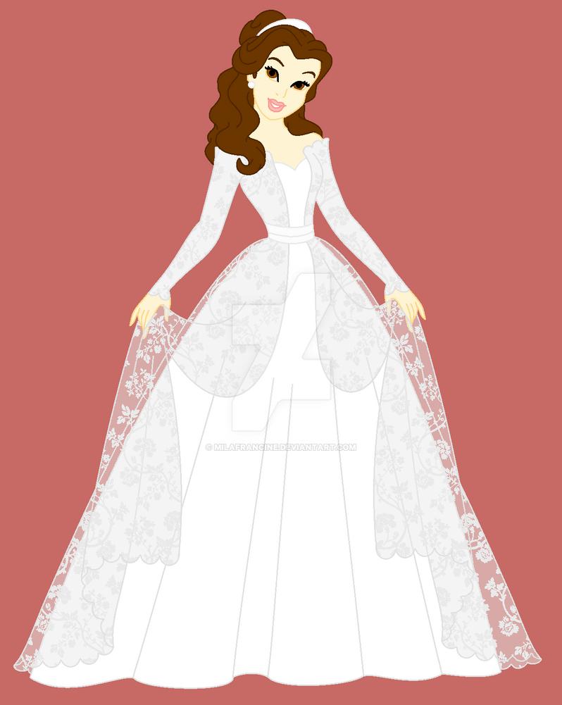 Disney Belle Wedding Dress. Princess Belle By. Disney Wedding ...