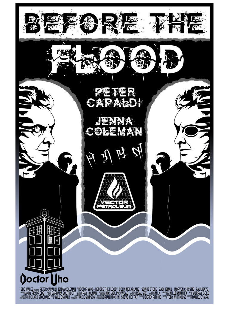 Before the Flood Poster (Second Version) by Alig952