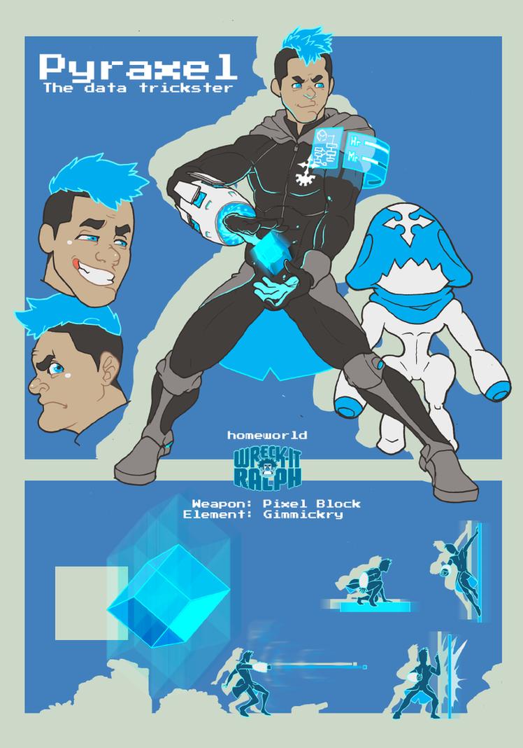 RoA - Pyraxel - Character Sheet application by pedrono