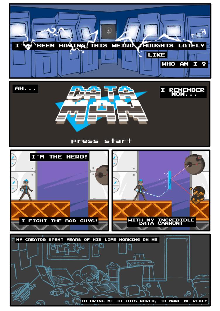 Pyraxel Prologue comic - Part 1 by pedrono