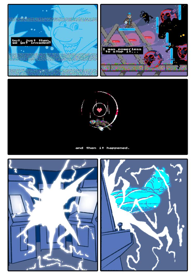 Pyraxel Prologue comic - Part 2 of 3 by pedrono