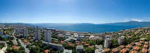 Panorama of Rijeka