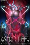 Astro Deer Poster