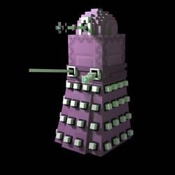 minecraft 1.9 Doctor who Dalek Shulker by HPFeathersen