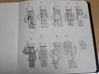 villager designs sketchup by HPFeathersen