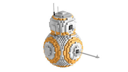 minecraft BB-8 Rig by HPFeathersen