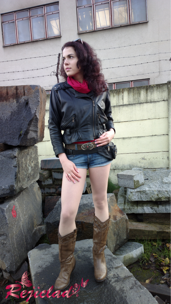 Claire Redfield RE2 result screen outfit IV by Rejiclad