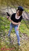 Jill Valentine RE1 DC cosplay III