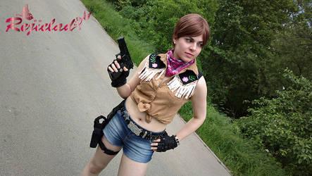 Rebecca Chambers RE0 cowgirl cosplay I by Rejiclad