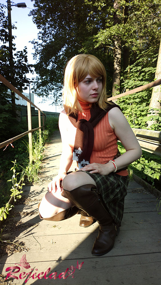 Ashley Graham RE4 cosplay II by Rejiclad