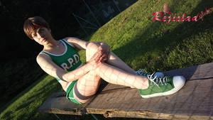 Rebecca Chambers RE Basketball cosplay I
