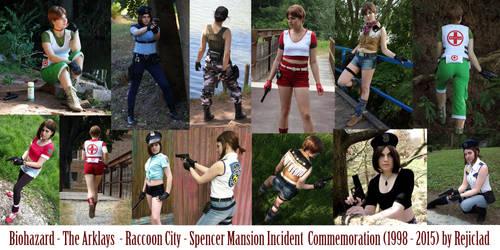 Biohazard Resident Evil Anniversary Cosplay WP by Rejiclad