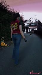 Claire Redfield RE:DC Halloween edit by Rejiclad