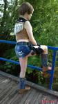Rebecca Chambers RE0 cowgirl cosplay VI