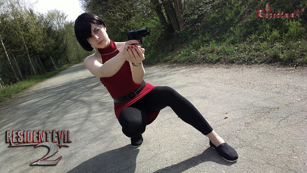 Ada Wong Biohazard 4 The Mercenaries cosplay X by Rejiclad