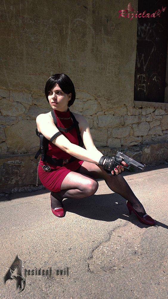 Ada Wong Biohazard 4 The Mercenaries cosplay I by Rejiclad