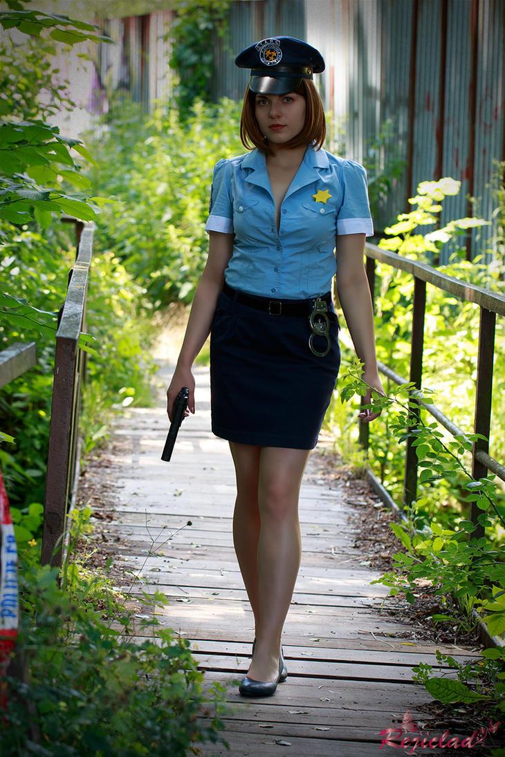 Jill Valentine Biohazard 3 Police cosplay VII by Rejiclad