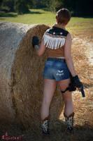 Rebecca Chambers Biohazard 0 Cowgirl cosplay V
