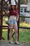 Claire Redfield REV2 Rodeo cosplay III