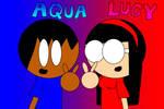 Aqua and Lucy