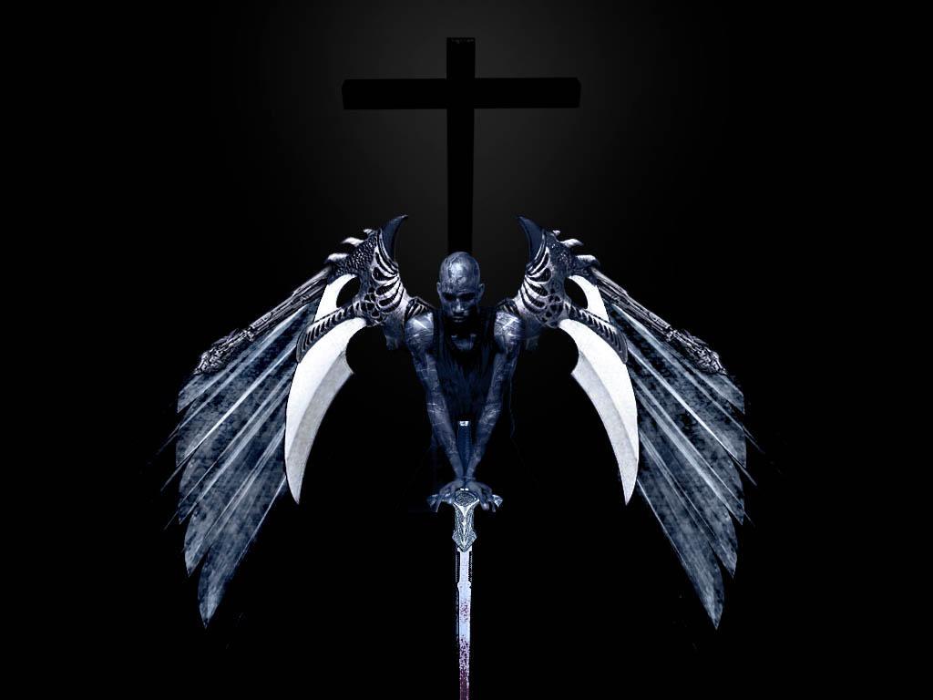 angels and demons battle art - photo #12